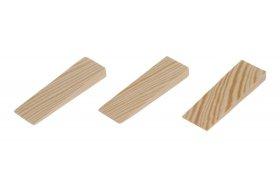 Montažiniai pleištai FESTA 37202:F, 80 x 25 x 10 mm, mediniai, lygūs, 20 vnt.