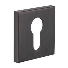 Durų apyraktė INOVO SLIM, 17, PZ, OGS, grafite, kvadratas, universali