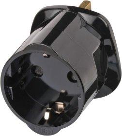 Adapteris BRENNENSTUHL, EURO-UK, 13A 250V, su saugikliu, 1508533