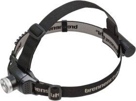 LED žibintuvėlis BRENNENSTUHL, ant galvos, CREE LED, 250 lm, IP44, pakraunamas su USB laidu, 3,7V/2,6Ah, 30 val., 100 m, KL250AF, 1177300