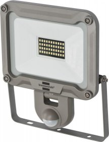LED prožektorius BRENNENSTUHL JARO 3000 P, 30 W, 44 LED, 220-240 V, 6500 K, 2930 lm, IP44, su PIR judesio davikliu iki 12m 120 laipsnių, 1171250332