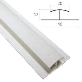 Sujungimo profilis PVC dailylentėms WAKSLINE A02/SKV-1