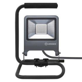 LED prožektorius LEDVANCE WORKLIGHT, 50 W, pastatomas, pasukamas, 220-240 V, 4000 K, 4500 lm, IP65, 120 laipsnių, pilkos sp., 267x272x395 mm