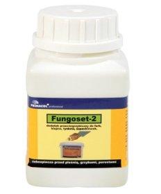 Priemonė prieš grybus ir pelėsį  FUNGOSET 2 250 ml  papildas akriliniams dažams, glaistams, tinkams, klijams vandens pagrindu,