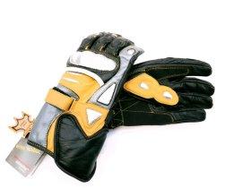 Pirštinės HERVIN XL, narūralios odos, miško darbams ir darbams grandininiu pjūklu, DMP001