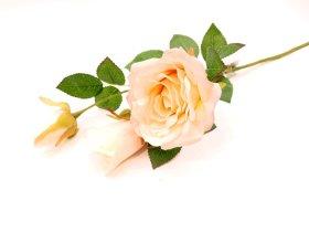 "Dirbtinė gėlė rožė ""Novelly Home"", šv. rožinės sp. 55cm, DY1-1805"