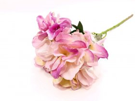 """Dirbtinė gėlė hortenzija """"Novelly Home"""", šv. violetinės sp. 64 cm,  DY13-6B"""