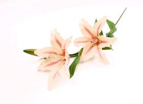 """Dirbtinė gėlė lelija """"Novelly Home"""", šv. rožinės sp. 76 cm,  DY1-107B"""