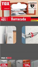 Kaištis TOX, Barracuda 12/60, 4 vnt.