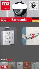 Kaištis TOX, Barracuda 14/70, 2 vnt.