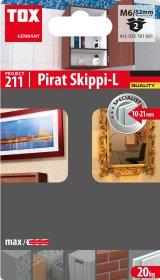 GKP inkaras su kabliu TOX, Pirat Skippi L M6/52, 2 vnt.