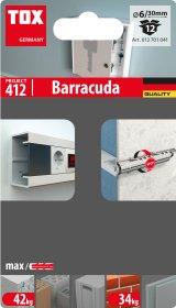 Kaištis su sraigtu TOX Barracuda