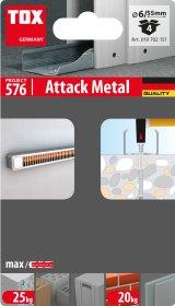 Kalamas kaištis TOX Attack Metal