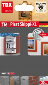 GKP inkaras su kabliu TOX Pirat Skippi XL