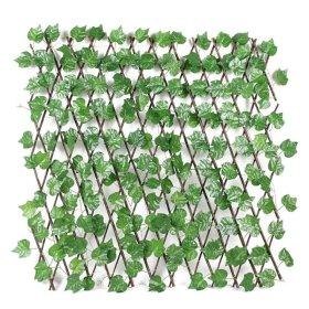Išplečiama dekoratyvinė tvorelė HERVIN GARDEN RPZL9 išmatavimai 1*1,5m. Suskleistos išmatavimai: 1,2*0,2m. Sudėtis: medis, tekstilė