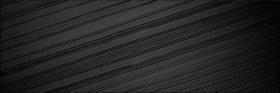 Plytelių keraminis dekoras PRISSMACER PIPER-1 BLACK ILLUSION RECT