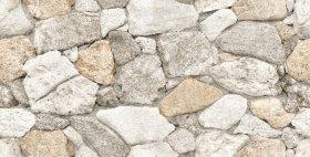 Akmens masės sienų plytelės BUENO EURO MADRID ELEVATION 7228 REKT, 30 x 60 x 0,95 cm, 0,900 m2/dėž., glazūruotos, pilkos spalvos akmenys