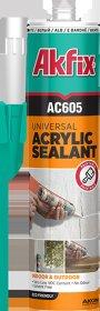 Akrilinis hermetikas AKFIX AC605, 310ml