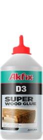 Medienos klijai Akfix D3