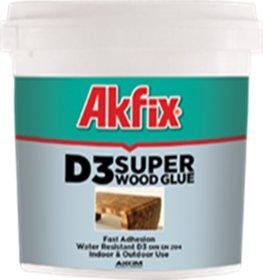 Medienos klijai Akfix D3, 1kg