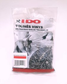 Tolinės vinys 2,5 x 40 mm Xido 2.5 x 40, 0.3 kg