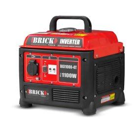 Inverterinis benzininis generatorius BRICK, maks. galia 1100 W, bako talpa 4,2 l