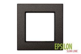 Rėmelis LIREGUS EPSILON 1 vietos, antracito spalvos, K14-145-01 E/J