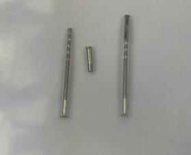 Rankenų varžtas METAL BUD 110 mm, ZN2 Laužomas, nikelio spalvos