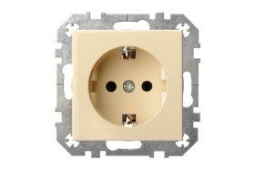 Kištukinis lizdas EPSILON IKL 16-204-01 E/S  spyruokl. kontaktai, greiti spyriai su įžeminimu,
