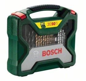 Įrankių rinkinys BOSCH X-Line 50 dalių