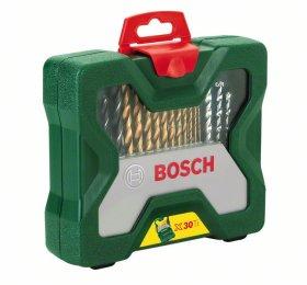 Įrankių rinkinys BOSCH X-Line Titanium, 30 dalių