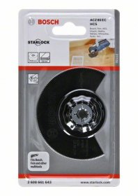 Multifunkcinio įrankio HCS segmentinis pjovimo diskas BOSCH ACZ 85 EC Wood 85 mm STARLOCK