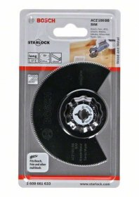 Pjovimo diskas daugiafunkciniui BOSCH ACZ 100 BB Wood and Metal 100 mm STARLOCK