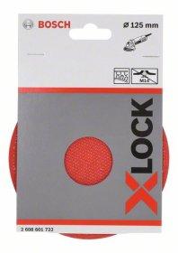 """Šlifavimo padas """"Velcro"""" tipo lapeliams BOSCH X-LOCK 125 mm"""