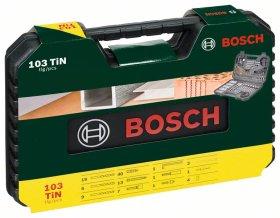 Priedų komplektas BOSCH V-Line, 103 vnt.
