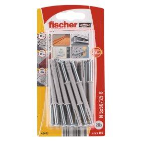 Kalami kaiščiai FISCHER, 5 x 50 mm, 20 vnt.