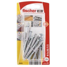 Kalami kaiščiai FISCHER, 5 x 30 mm, 20 vnt.