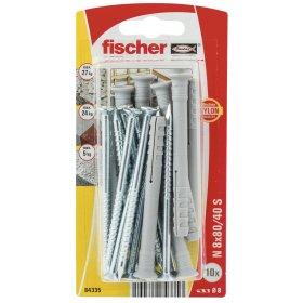 Kalami kaiščiai FISCHER, 8 x 80 mm, 10 vnt.