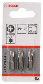 Sukimo antgaliai BOSCH Ph 2/L=25 3 vnt, Extra Hart