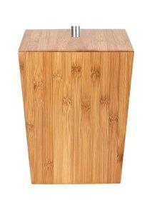 Vonios šiukšliadėžė RIDDER BAMBOO, 26 x 20 x 20 cm, bambukinė, 5 L