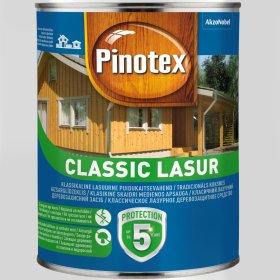 Medienos impregnantas PINOTEX CLASSIC, 1 l bespalvis, matinis