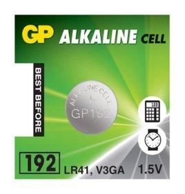 Maitinimo elementai GP GREENCELL mini LR41 1,5 V, CY-V3 AG 3, stend
