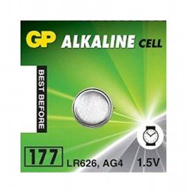 Maitinimo elementai GP GREENCELL mini LR626SW, 1,5 V, CY-V4 AG 4, stend