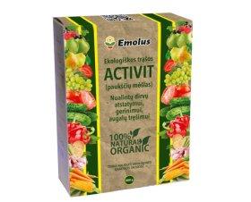 Organinės, granuliuotos, ekologinės trąšos ACTIVIT