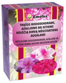 Mineralinių trąšų mišinys   rūgščia dirva mėgstatntiems augalams Rododendrams, Azalijoms ir kt., 1 kg.