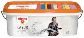 Struktūriniai dažai ALPINA EFFEKT LASUR 2,5 l, sidabro atspalvio