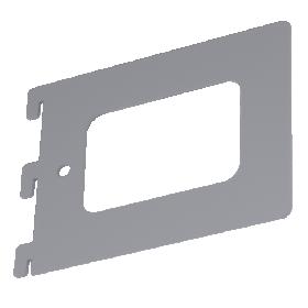 Lentynos laikiklis VELANO, WKS 3 SZ 140x120x1,5 mm, pilkos spalvos, DMX 5695