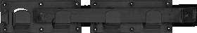 Vartelių užšovas, DMX, WBR440, 440x70x180 mm, juoda sp., 86412