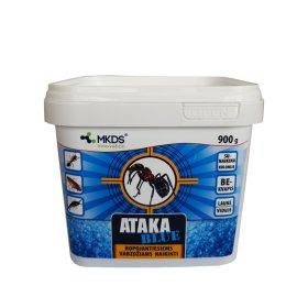 Granulės skruzdėms, tarakonams, blakėms naikinti ATAKA BLUE, 900 g.