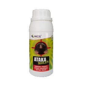 Priemonė nuo kurmių ATAKA MOLES, 500 ml.